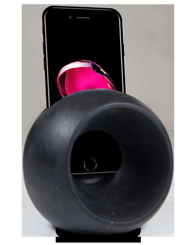Soundball - marmo modellato